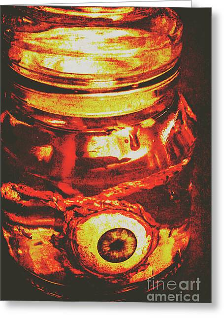 Eyes Of Formaldehyde Greeting Card by Jorgo Photography - Wall Art Gallery