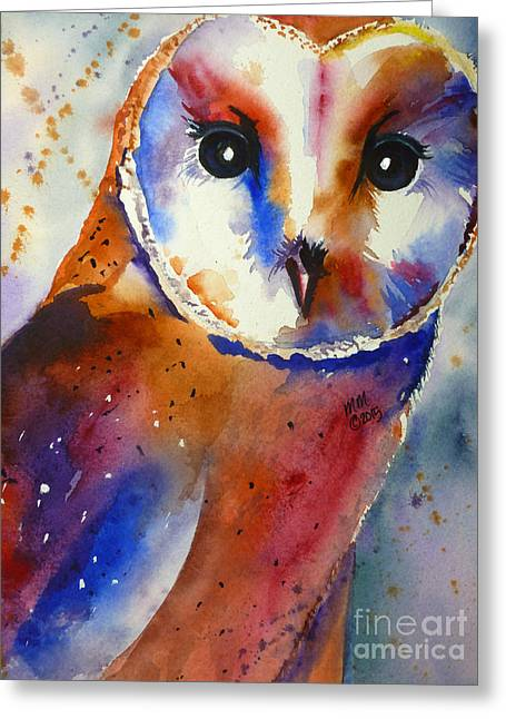 Eyes Of The Guardian Greeting Card