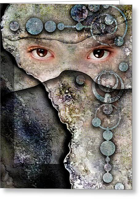 Eyes Of Vision Greeting Card by Tim Thomas
