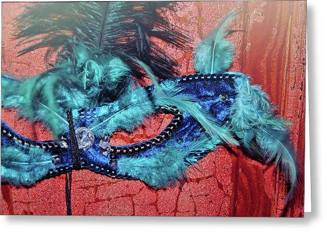 Eyes Wide Shut Greeting Card by JAMART Photography