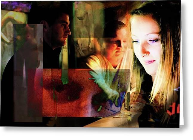 Eyes Wide Shut - Stanley Kubrick's Movie Interpretation Greeting Card