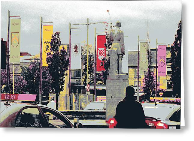 Eyre Square Galway Greeting Card