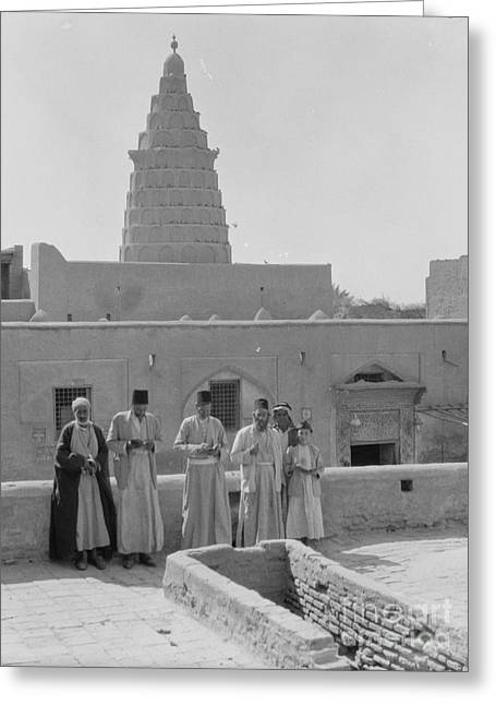 Ezekial's Tomb At Kifel Greeting Card by Celestial Images