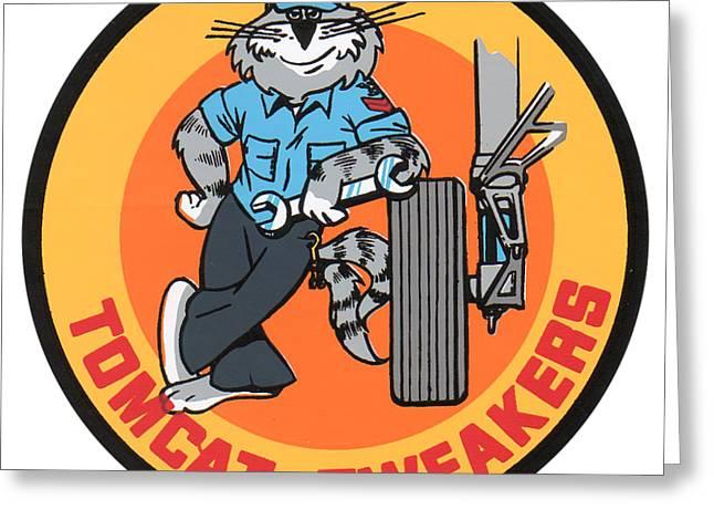 F-14 Tomcat Tweakers Greeting Card
