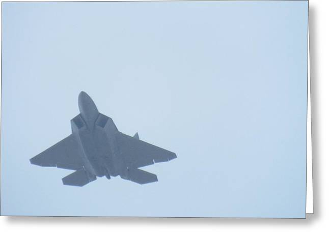 F-22 Lincoln Greeting Card