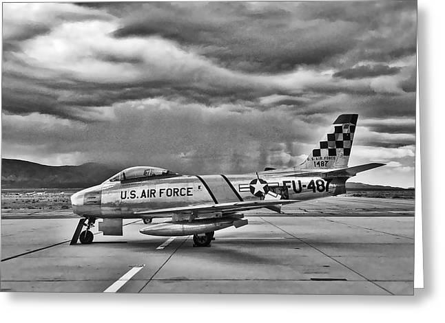 F-86 Sabre Greeting Card