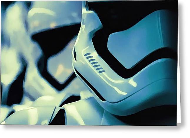 F O St - First Order Stormtroopers Greeting Card