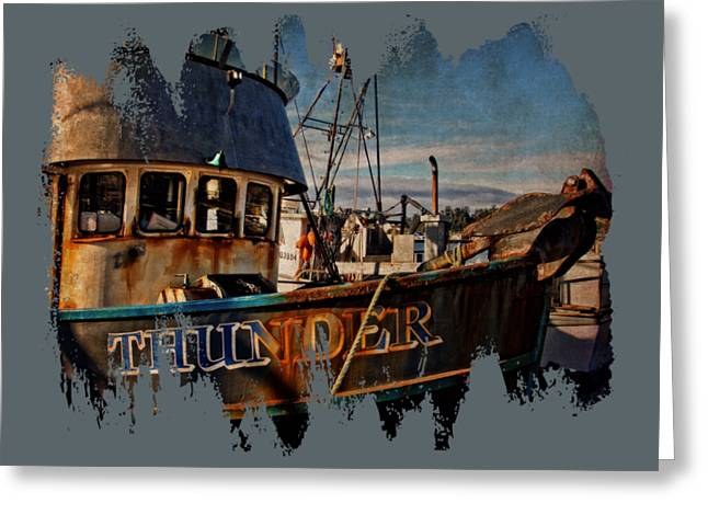 F/v Thunder Greeting Card