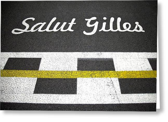 F1 Circuit Gilles Villeneuve - Montreal Greeting Card