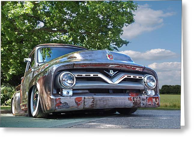 F100 Chillin' Greeting Card