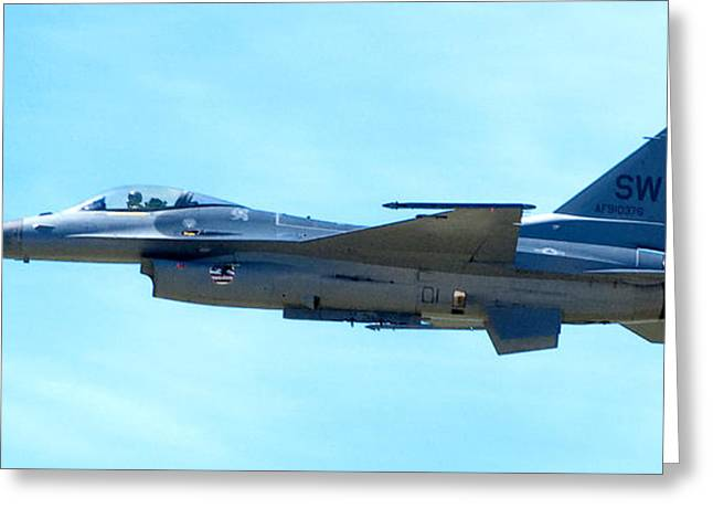 F16 Greeting Card