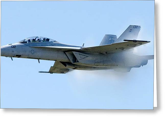 F18 - Barrier Greeting Card by Greg Fortier