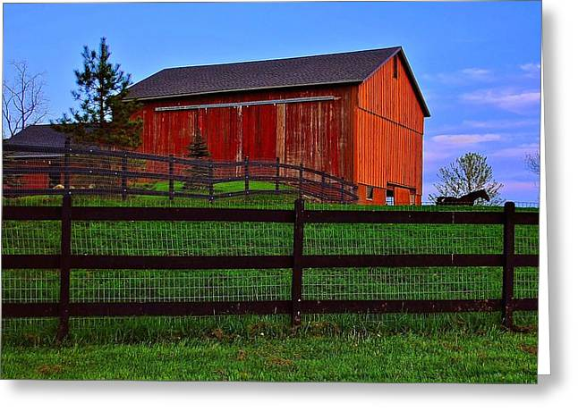 Fabulous Farm Greeting Card by Frozen in Time Fine Art Photography