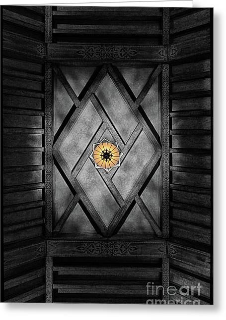 Fabulous Fox Theater Atlanta Ceiling Detail Greeting Card