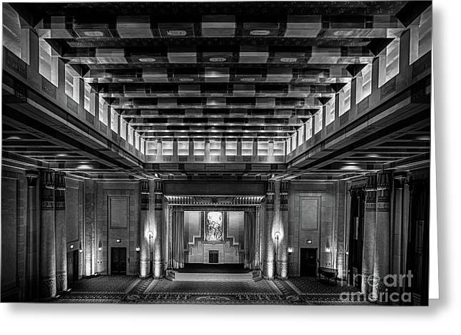 Fabulous Fox Theater Atlanta Egyptian Ballroom Greeting Card