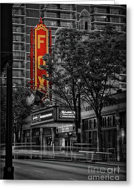 Fabulous Fox Theater Greeting Card