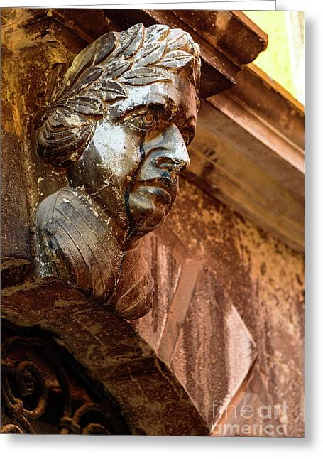 Face In The Streets - Rovinj, Croatia Greeting Card