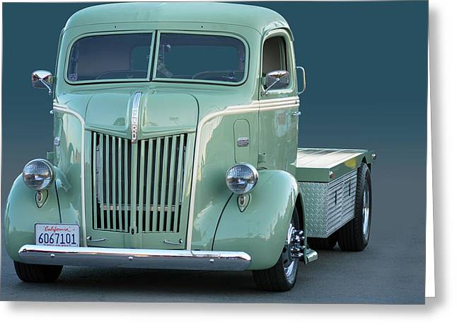 Face O Ford Coe Greeting Card by Bill Dutting