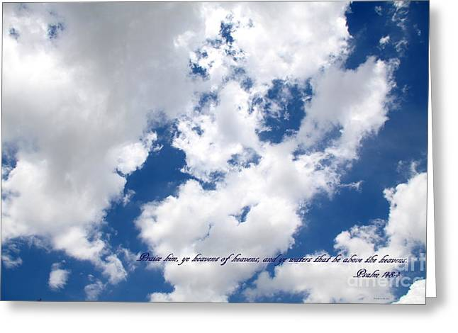 Face Of God Breath Of Life Greeting Card