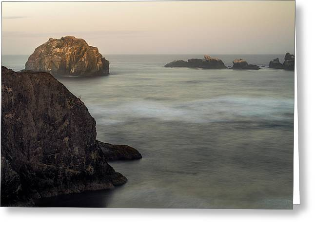Face Rock Sunrise Greeting Card