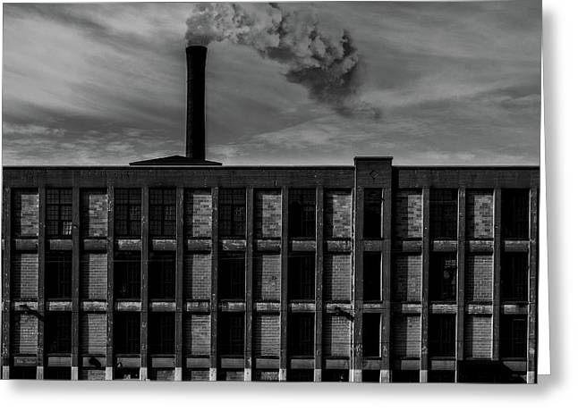 Factory Greeting Card by Bob Orsillo