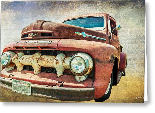 Faded Ford Greeting Card by Tom Pickering of Photopicks Photography and Art