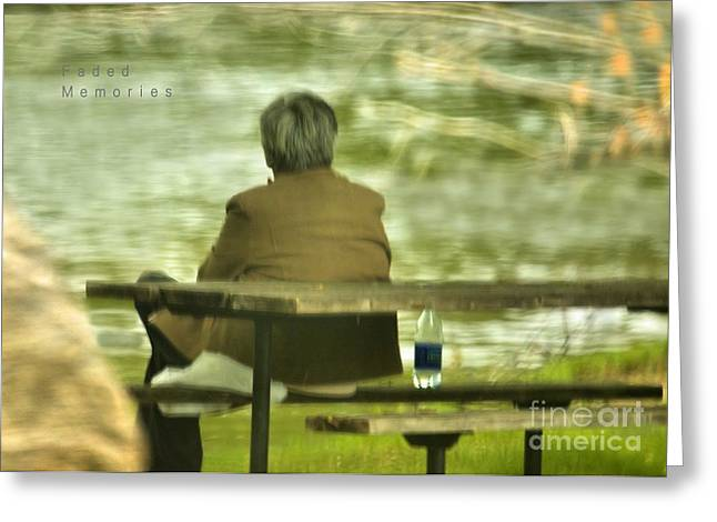 Greeting Card featuring the photograph Faded Memories by Debbie Stahre