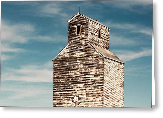 Faded Time Greeting Card by Todd Klassy