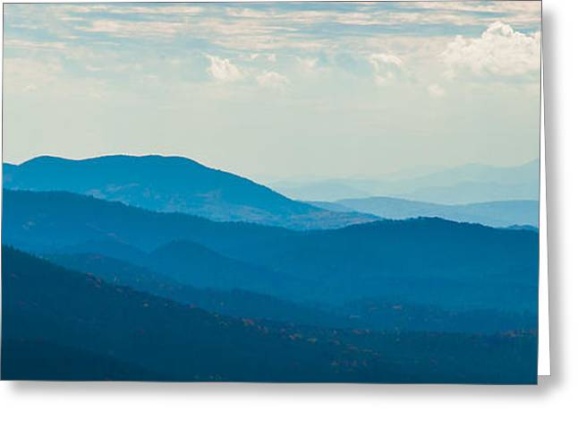 Fading Appalachians Greeting Card