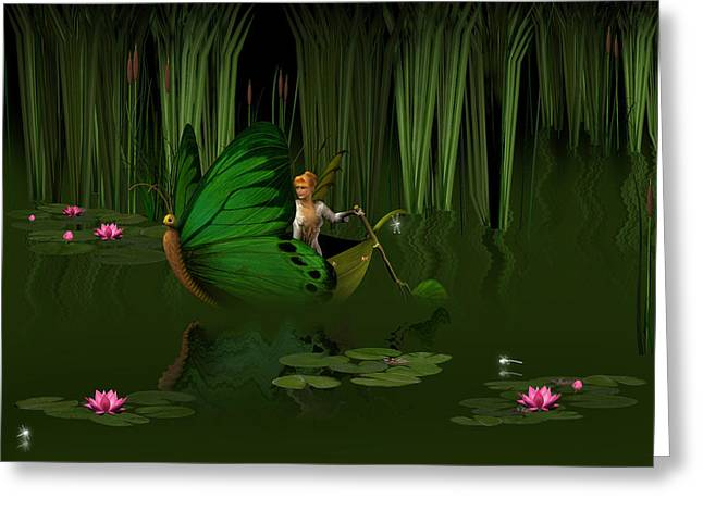 Faerie Pond Greeting Card