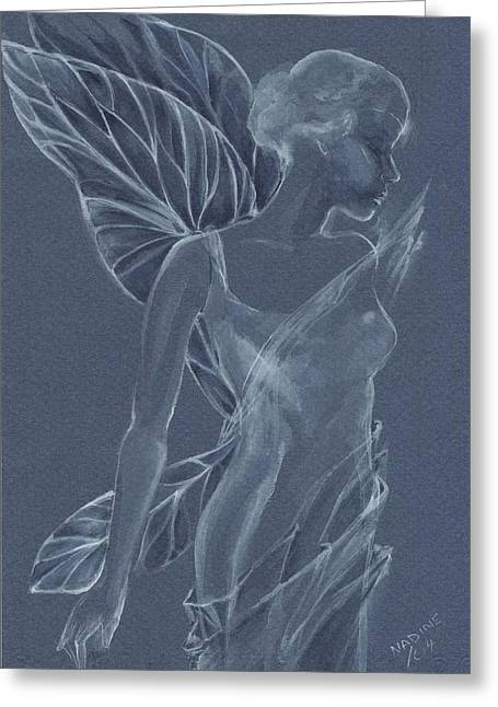 Faery Shadow Greeting Card