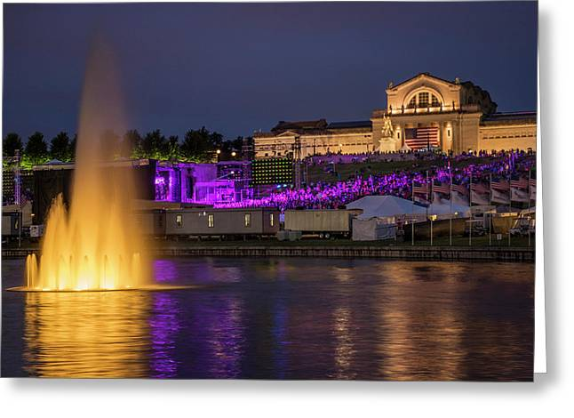 Fair St Louis At Forest Park Greeting Card
