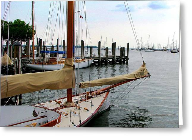 Fair Weather Annapolis  Greeting Card
