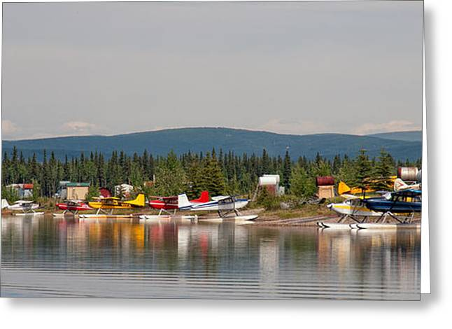 Fairbanks Float Pond  Greeting Card