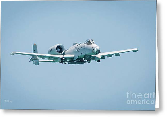 Fairchild A-10 Thunderbolt II Greeting Card