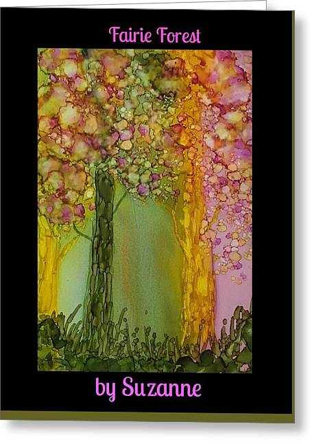 Fairie Forest Greeting Card