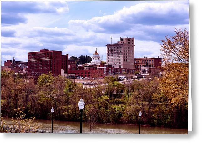 Fairmont West Virginia Greeting Card by L O C