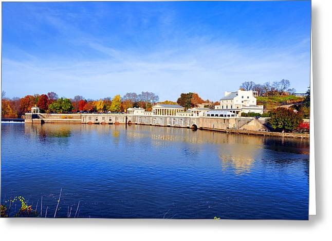 Fairmount Water Works - Philadelphia Greeting Card by Bill Cannon