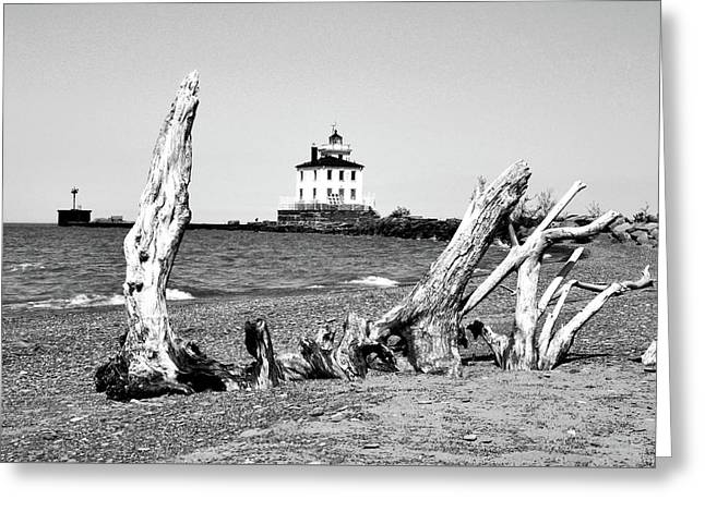 Fairport Harbor Lighthouse Greeting Card