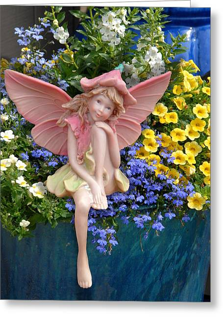Fairy 86 Greeting Card by Joyce StJames