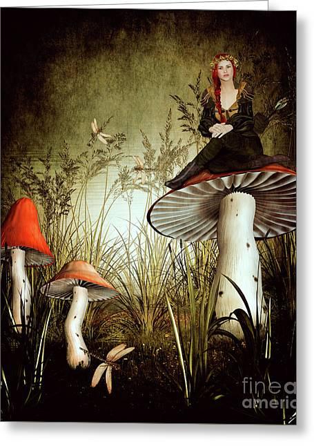 Fairy Archer Greeting Card