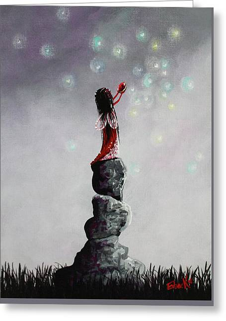 Fairy Art Prints By Erback Greeting Card