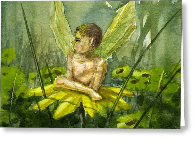 Fairy Boy Greeting Card