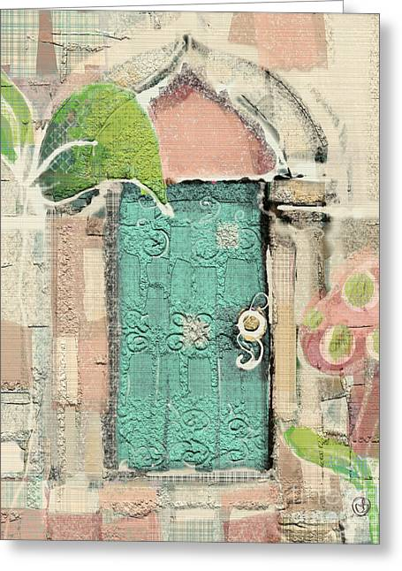Fairy Door Greeting Card