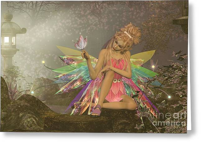 Fairy Dreams Greeting Card by Corey Ford