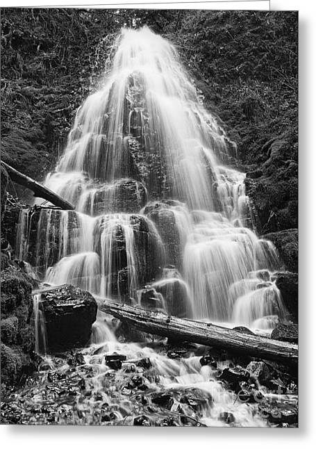 Fairy Falls Greeting Card by Jamie Pham