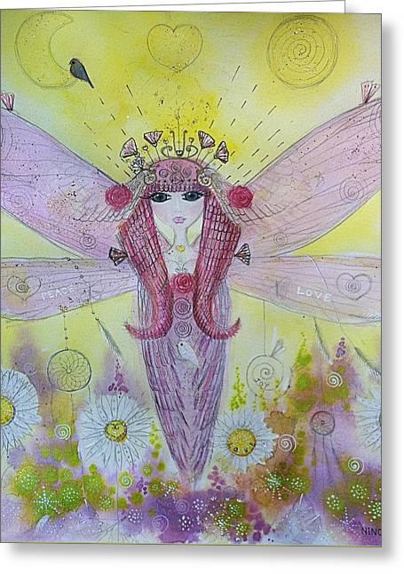Fairy Messenger  Greeting Card