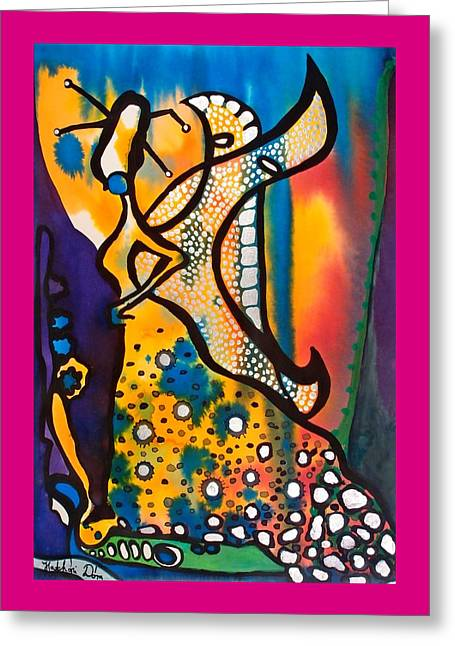 Fairy Queen - Art By Dora Hathazi Mendes Greeting Card