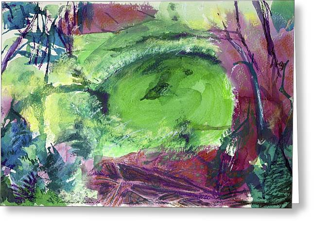 Fairy Ring, Lasso Forest Greeting Card