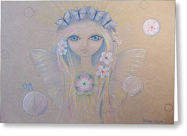 Fairy Song  Greeting Card